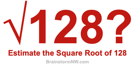 what is the square root of 128